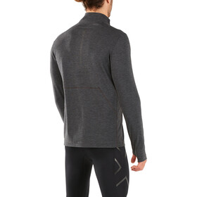 2XU Heat T-shirt manches longues running Homme, outer space/outer space